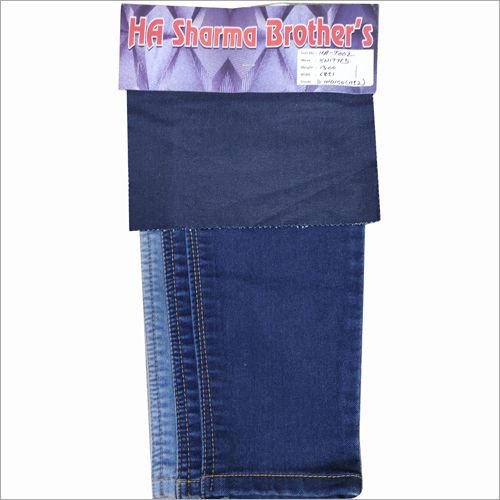 Ladies Knitted Denim Fabric