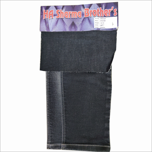 Plain Dobby Denim Fabric