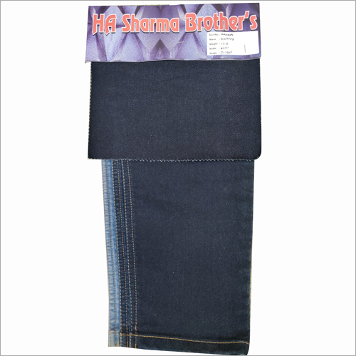 Plain Kintted Denim Fabric