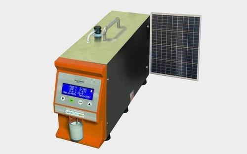 Ultrasonic Milk Analyzer with solar power (Himachal pradesh)