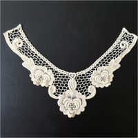 White Cotton Neck Lace