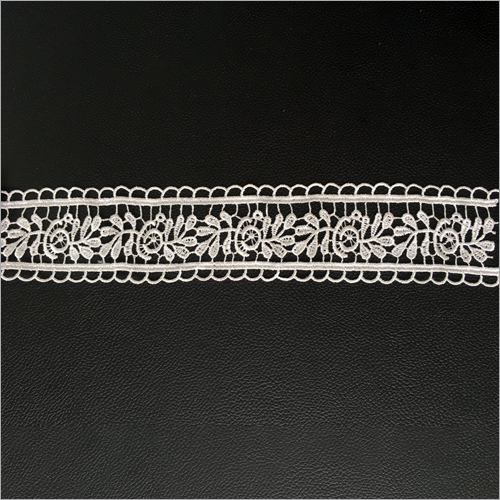 White Trim Lace