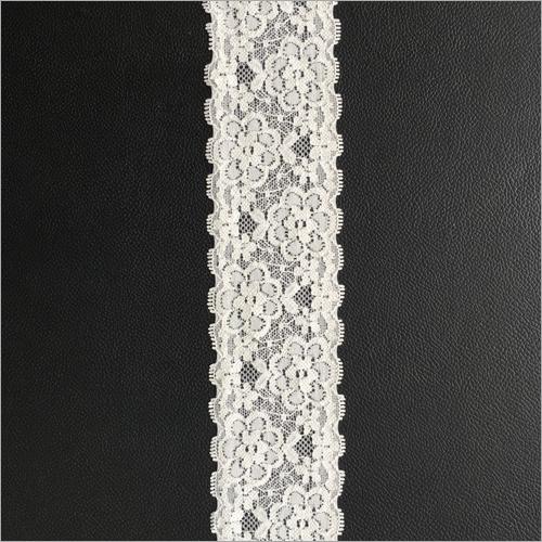 Lycra White Lace