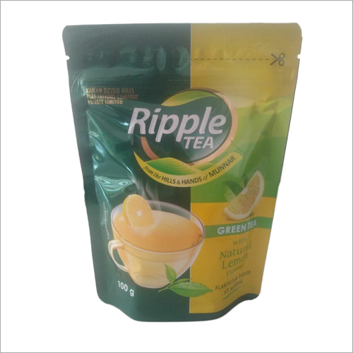 Natural Lemon Flavour Green Tea