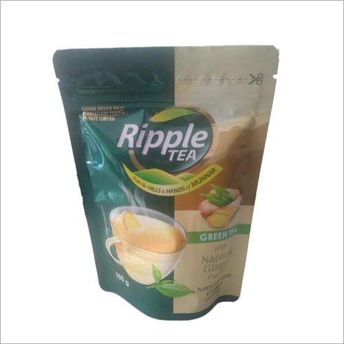 Natural Ginger Flavour Green Tea