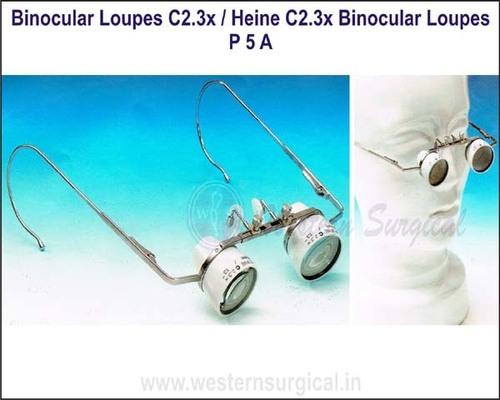 Binocular Loupes C2.3x &  Heine C2.3x Binocular Loupes
