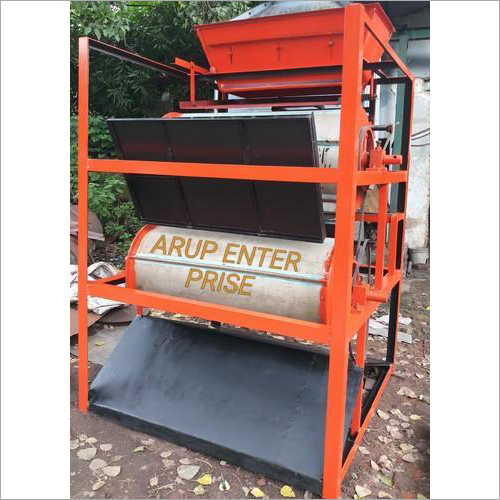 Double Drum Magnet Iron Separator Machine