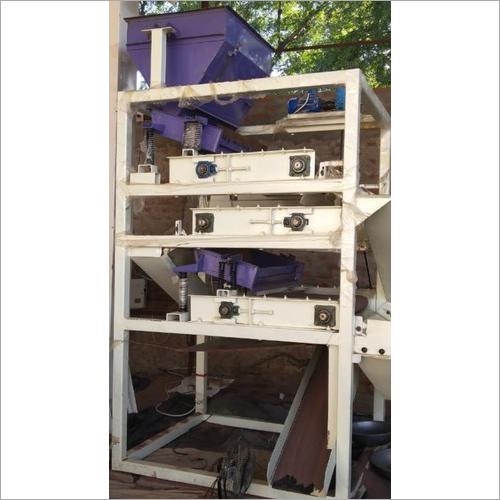 Stepping Cross 3 Roller Magnet Iron Separator Machine