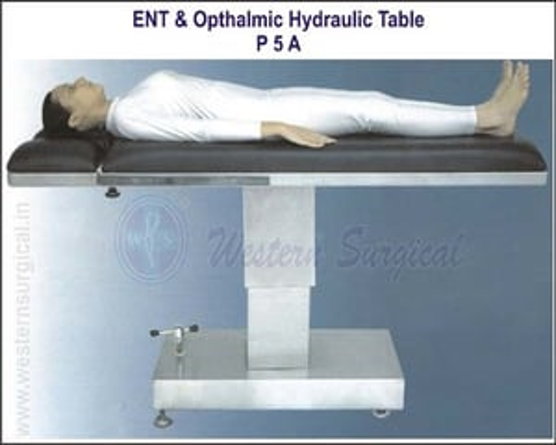 Operation Table Hydraulic