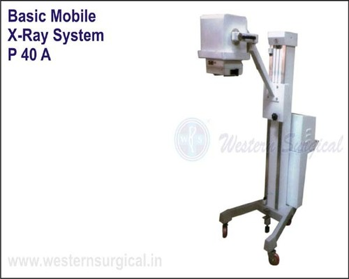 Basic Mobile X-Ray System Specification 60 mA
