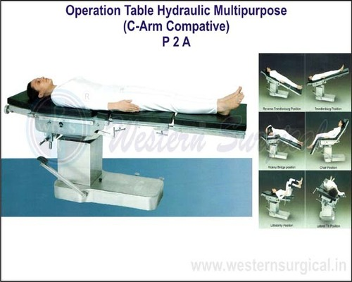 Operation Table(Hydraulic Multipurpose C-Arm Compatible)