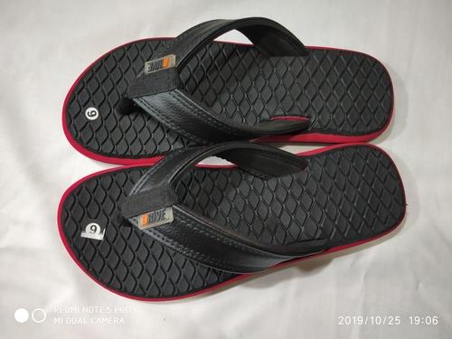 Mens Black flip flop
