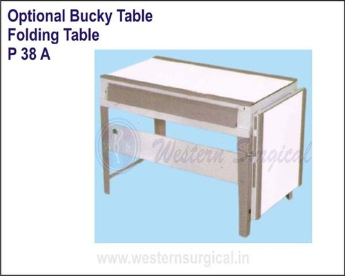 Optional Bucky Table - Folding Table