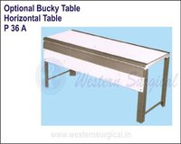 Optional Bucky Table - Horizontal Table