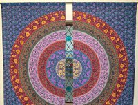 Indian Mandala six Works Ombre Hippie Bohemian Curtain