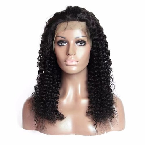 Hot Remy Virgin Hair Curly Human Hair Wig