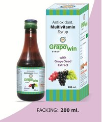 LGH Grapowin Syrup With Grape Seeds