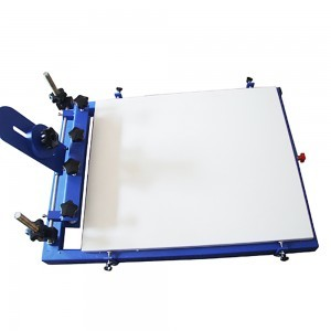 1 color 1 station Screen printer
