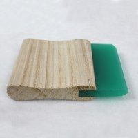 Wooden Handle Squeegee Blade