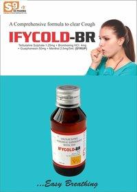 Terbutaline Sulphate+ Bromhexine + Guaiphenesin + Menthol