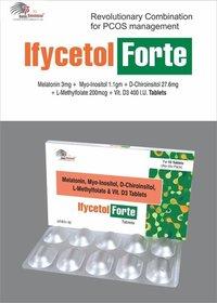 Melatonin + Myo-Inositol+ D-Chiroinsitol  + L-Methylfolate + Vitamin D3