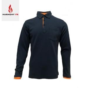FR Long Sleeve Polo Shirt