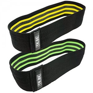 Fitness Resistance Hip Bands for Booty Workout, for Legs Stretching and Strength Training Lower Body,Includes Carry Bag