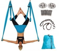 Aerial Yoga Swing a   Ultra Strong Antigravity Yoga Hammock/Sling/Inversion Tool for Air Yoga Inversion Exercises