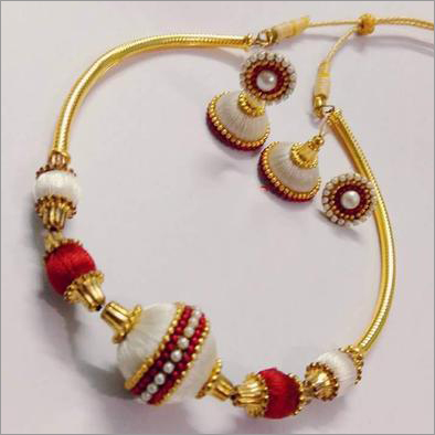 Silk Thread Jewellery Combo