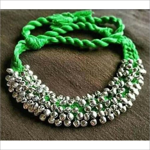 Silver Colour Ghungur Chokers