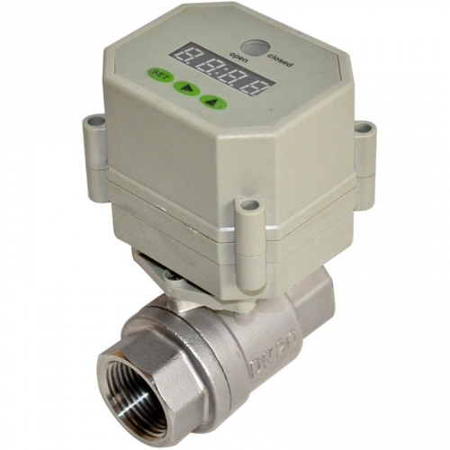 Stainless Steel Auto Drain Valve & Timer