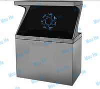 84inch 180 degree interactive single-sided hologram display