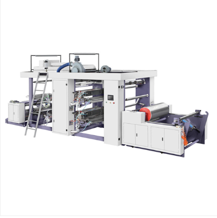 FLP-Series 4 Colors FLEXO PRINTING MACHINE