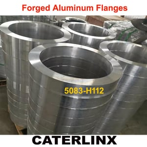 Forged Aluminium Flanges for GIS Tank Use
