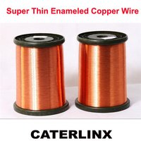 Super Thin Enameled Copper Wire  SWG48(0.04mm)