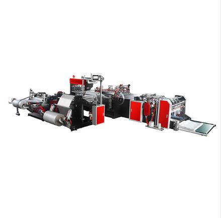 PE Film Cutting Sewing Inserting Machine