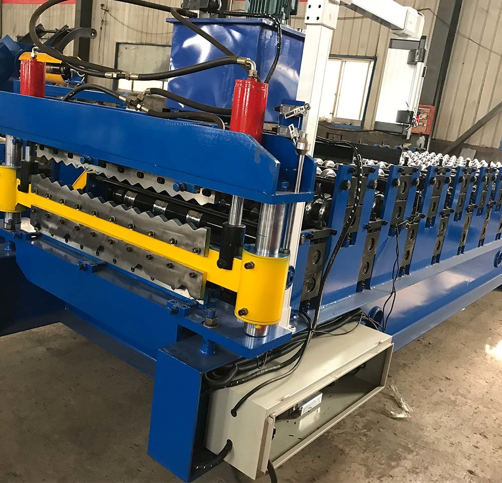 Double Roof Tile Machine