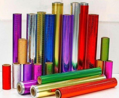 Multi Color Bopp Gift Wrapping Films