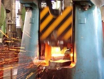25kj closed die forging hammer drop hammer for spanner