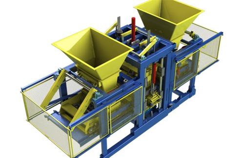 High Production Concrete Block Machines