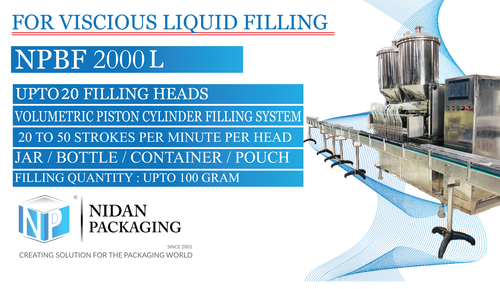 NPMH 1000 Multi Head Liquid Filling Machine