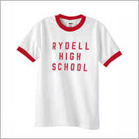 U Neck School T Shirt