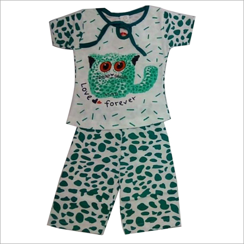 Printed Baba Suit