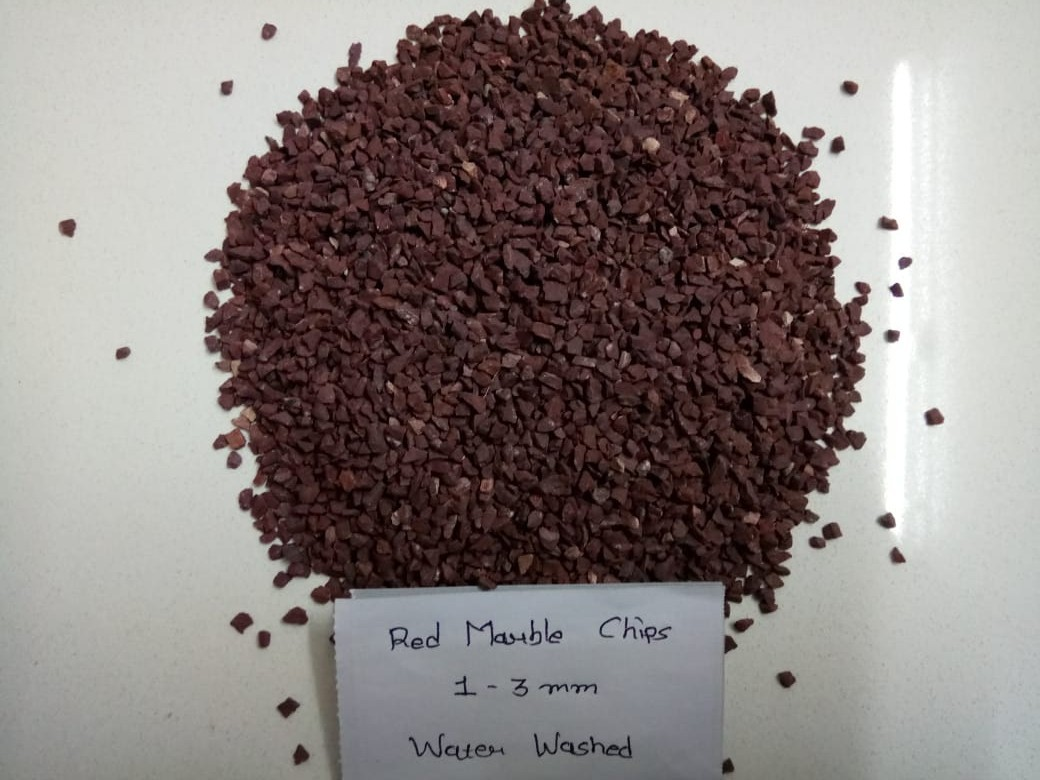 Chicken Blood Red Marble Little Pebbles And Gravels For Garden Decor