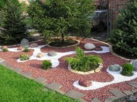 Chicken Blood Red Marble And Gravels For Garden Decor and commercial construction