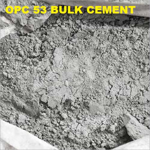 OPC 53 Grade Bulk Cement