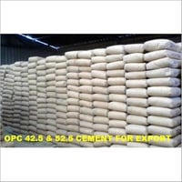 OPC-42.5 And 52.5 Cement for export grade