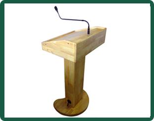 Wireless Presentation Podium