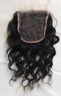 Natural wavy lace closure