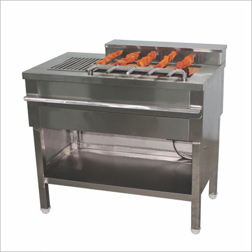 Charcoal Motorized Barbeque Machine